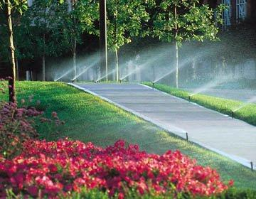 lawn sprinklers in Delaware & Chester County